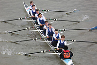 Crew: 159   Dulwich College Boat Club   School First J15 8<br /> <br /> Schools' Head of the River 2018<br /> <br /> To purchase this photo, or to see pricing information for Prints and Downloads, click the blue 'Add to Cart' button at the top-right of the page.
