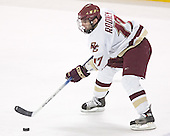 Joe Rooney - The Boston College Eagles and University of New Hampshire earned a 3-3 tie on Thursday, March 2, 2006, on Senior Night at Kelley Rink at Conte Forum in Chestnut Hill, MA.  Boston College honored its three seniors, captain Peter Harrold and alternate captains Chris Collins and Stephen Gionta, before the game.
