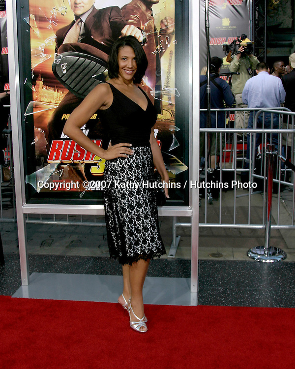 "Wendy Davis .""Army Wives"".""Rush Hour 3"" Premiere.Grauman's Chinese.Los Angeles, CA.July 30, 2007.©2007 Kathy Hutchins / Hutchins Photo...."