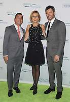 NEW YORK, NY - OCTOBER 13:  Gregory Boroff, Madelyn Wils and Harry Connick Jr. attend the 2016 Friends of Hudson River Park Gala at Hudson River Park's Pier 62 on October 13, 2016 in New York City. Photo by John Palmer/MediaPunch