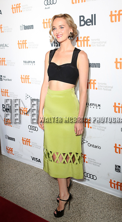 "Jess Weixler during the 2013 Tiff Film Festival Gala Red Carpet Premiere for ""The Disappearance of Eleanor Rigby""  at the Elgin Theatre  on September 9, 2013 in Toronto, Canada."