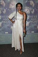 LOS ANGELES, CA - FEBRUARY 05: Jerrika Hinton at the Here And Now Los Angeles Premiere at the  DGA Lot on February 5, 2018 in Los Angeles, California. Credit: David Edwards/MediaPunch
