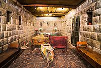 Inca Chapel at Hacienda San Agustin de Callo, luxury boutique hotel near Cotopaxi National Park, Ecuador, South America