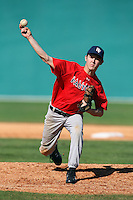 December 30, 2009:  Nicholas Lohrum (11) of the Baseball Factory Cornhuskers team during the Pirate City Baseball Camp & Tournament at Pirate City in Bradenton, FL.  Photo By Mike Janes/Four Seam Images