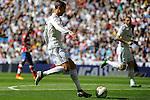 Real Madrid´s Cristiano Ronaldo during 2014-15 La Liga match between Real Madrid and Granada at Santiago Bernabeu stadium in Madrid, Spain. April 05, 2015. (ALTERPHOTOS/Luis Fernandez)