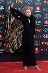 Marisa Paredes attends red carpet of Goya Cinema Awards 2018 at Madrid Marriott Auditorium in Madrid , Spain. February 03, 2018. (ALTERPHOTOS/Borja B.Hojas)