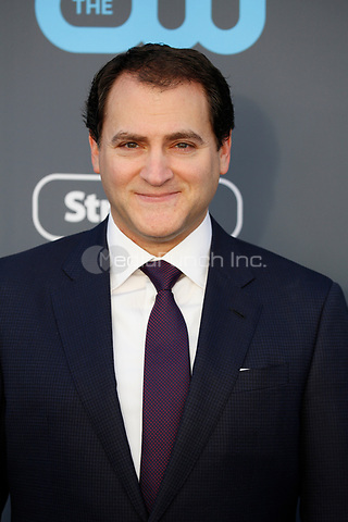 Michael Stuhlbarg attends the 23rd Annual Critics' Choice Awards at Barker Hangar in Santa Monica, Los Angeles, USA, on 11 January 2018. Photo: Hubert Boesl - NO WIRE SERVICE - Photo: Hubert Boesl/dpa /MediaPunch ***FOR USA ONLY***