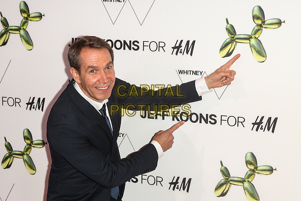 NEW YORK, NY - JULY 15: Jeff Koons attends the H&amp;M Flagship Fifth Avenue Store launch event at H&amp;M Flagship Fifth Avenue Store on July 15, 2014 in New York City.  <br /> CAP/MPI/COR99<br /> &copy;COR99/MPI/Capital Pictures