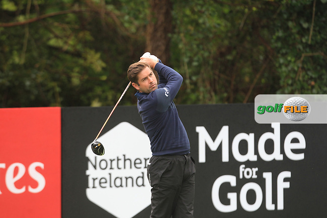 Robert Rock (ENG) during Thursday's Round 1 ahead of the 2016 Dubai Duty Free Irish Open Hosted by The Rory Foundation which is played at the K Club Golf Resort, Straffan, Co. Kildare, Ireland. 19/05/2016. Picture Golffile | TJ Caffrey.<br /> <br /> All photo usage must display a mandatory copyright credit as: &copy; Golffile | TJ Caffrey.
