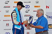 F4 US Championship<br /> Rounds 7-8-9<br /> Canadian Tire Motorsport Park<br /> Bowmanville, ON CAN<br /> Sunday 9 July 2017<br /> 45, Baltazar Leguizamon, podium<br /> World Copyright: Gavin Baker<br /> LAT Images