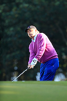 Dermot Desmond (AM) in the rough on the 11th during Round 2 of the 2015 Alfred Dunhill Links Championship at Kingsbarns in Scotland on 2/10/15.<br /> Picture: Thos Caffrey | Golffile