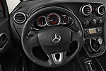 Car pictures of steering wheel view of a 2018 Mercedes Benz Citan Perfect Tool 4 Door Panel Wagon