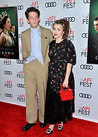 """LOS ANGELES, USA. November 17, 2019: Josh O'Connor & Helena Bonham Carter at the gala screening for """"The Crown"""" as part of the AFI Fest 2019 at the TCL Chinese Theatre.<br /> Picture: Paul Smith/Featureflash"""