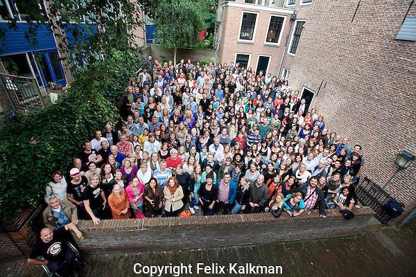 Utrecht, 17 september 2012.Nederlands Film Festival 2012.Vrijwilligers bijeenkomst in 't Hoogt..Foto Felix Kalkman.