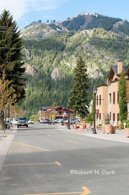 Street views of Ketchum, Idaho