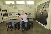 NWA Democrat-Gazette/MICHAEL WOODS --06/04/2015--w@NWAMICHAELW... Kenneth Medlin in his kitchen at his Bentonville home.