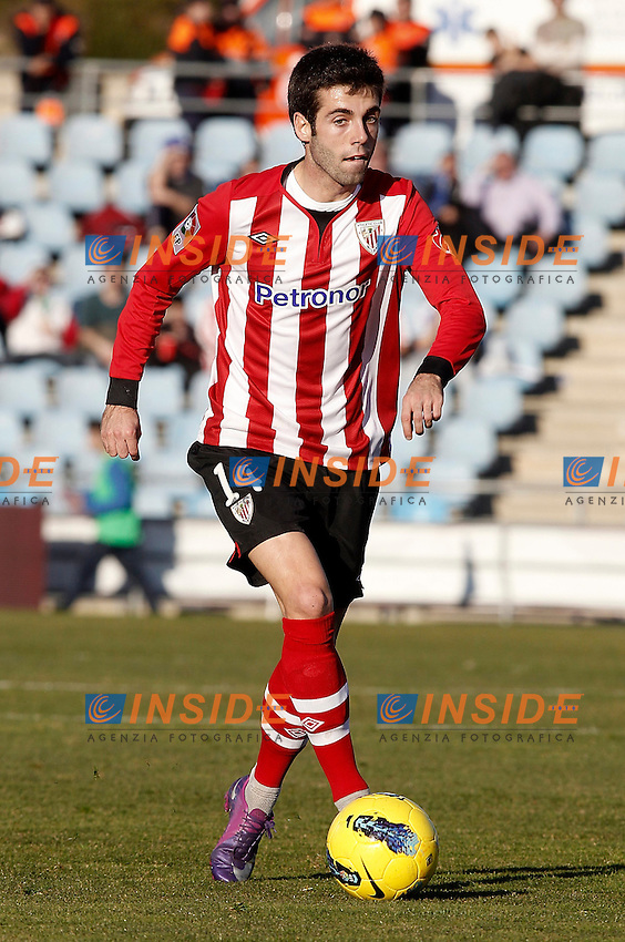 Athletic de Bilbao's Markel Susaeta during La Liga Match. January 08, 2012. (ALTERPHOTOS/Alvaro Hernandez) .Foto INSIDEFOTO.ITALY ONLY