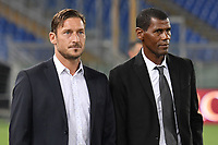 Francesco Totti e Aldair <br /> Roma 01-09-2017 Stadio Olimpico Football Friendly match AS Roma - Chapecoense Foto Andrea Staccioli / Insidefoto