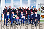 Hugh O'Flaherty presents the Monsignor Hugh O'Flaherty International Humanitarian award to theKillarney mountain Rescue in Killarney House on Saturday night (names to follow)