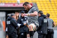 Kieran Read. All Blacks training at Westpac Stadium in Wellington, New Zealand on Thursday, 14 June 2018. Photo: Dave Lintott / lintottphoto.co.nz