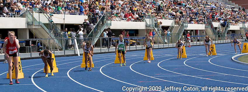 OFSAA Track & Field Championships at the Varsity Centre, University of Toronto, Saturday June 6, 2009.