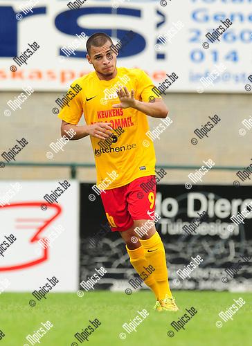 2014-07-19 / Voetbal / seizoen 2014-2015 / KFC Oosterzonen / Abder Ziriouhi<br /><br />Foto: mpics.be