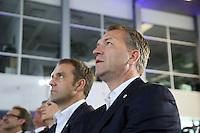 Co-Trainer Hansi Flick und Torwarttrainer Andreas Koepke