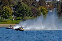 "GP-247 ""Deepwater Special"" (Lauterbach Grand Prix class hydroplane), Jim Labrie, GP-111 ""Advance United"" (1980 Grand Prix class Lauterbach hydroplane)"
