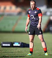 Dan Robson (Wasps) during the England Rugby training session at  Jonsson Kings Park Stadium,Durban.South Africa. 05,06,2018 Photo by (Steve Haag)