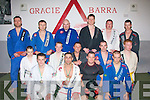 Medal Winners.-------------.Tralee based Brazilian Jiujitsui club,Gracie Barra,cleaned up in Irish open competitions in Dublin and Cork last weekend(Front)L-R Shane Galvin won bronze in the -76kg,Mikel Kryzi won Gold in his category,James O'Brien won his debut cage combat fight in Cork city on a technical knock out(TKO)in which the ref stopped the fight on the 3rd round and Danny Casey also won Bronze in the Open weight category.(2nd row)L-R Bobby&Darren O'Loughlin,Damian Moran,Jonathon O'Sullivan and Aaron Eager(3rd row)L-R Mike Clifford,Tom Patton(Instructor)Mike O'Loughlin,Francis Galvin(Instructor)Gene Kearney and Kevin Devine..