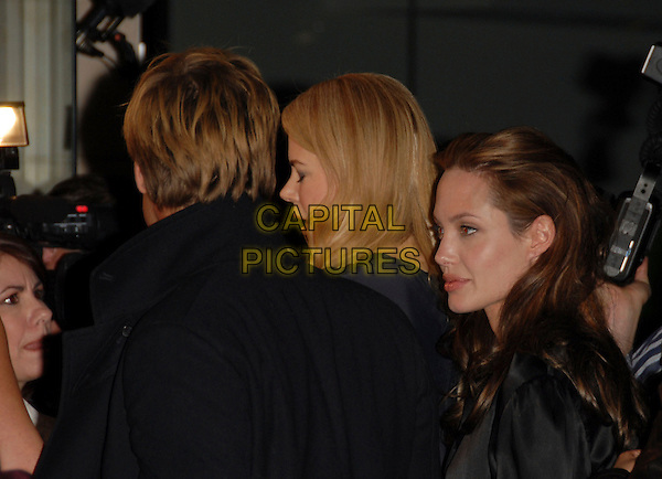 "BRAD PITT, NICOLE KIDMAN & ANGELINA JOLIE.attends The L.A. Premiere of ""God Grew Tired of Us"" held at The Pacific Design Center in Beverly Hills, California, USA, January 08 2007."