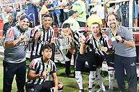 RIO DE JANEIRO, RJ, 16.06.2017 - FLAMENGO-ATL&Eacute;TICO - Jogadores do<br /> Atl&eacute;tico Mineiro comemoram t&iacute;tulo ap&oacute;s disputa por p&ecirc;naltis contra o Flamengo no segundo jogo v&aacute;lido pela final da Copa do Brasil Sub-20 no est&aacute;dio Ilha do Urubu no Rio de Janeiro, nesta sexta, 16.(Foto: Clever Felix/Brazil Photo Press)