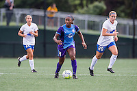 Allston, MA - Sunday July 31, 2016: Jamia Fields during a regular season National Women's Soccer League (NWSL) match between the Boston Breakers and the Orlando Pride at Jordan Field.