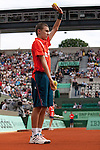 Roland Garros. Paris, France. June 1st 2012.A day with the ball boys..