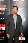 LOS ANGELES, CA - MAR 13: Rob Riggle at the premiere of Columbia Pictures '21 Jump Street' held at Grauman's Chinese Theater on March 13, 2012 in Los Angeles, California