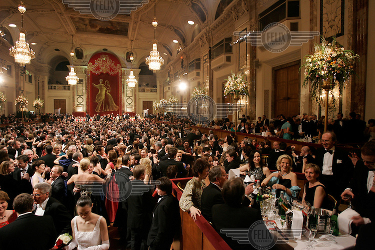 The Kaffeesieder ball (Coffee Brewers' Ball) at Hofburg Palace.
