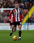 Paul Coutts of Sheffield United during the English Football League One match at Bramall Lane, Sheffield. Picture date: November 19th, 2016. Pic Jamie Tyerman/Sportimage