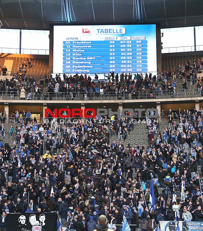 28.02.2015, OLympiastadion, Berlin, GER, 1.FBL, Hertha BSC vs. FC Augsburg , im Bild <br /> <br />               <br /> Foto &copy; nordphoto /  Engler