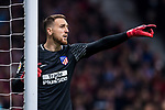 Goalkeeper Jan Oblak of Atletico de Madrid gestures during the La Liga 2017-18 match between Atletico de Madrid and Real Madrid at Wanda Metropolitano  on November 18 2017 in Madrid, Spain. Photo by Diego Gonzalez / Power Sport Images