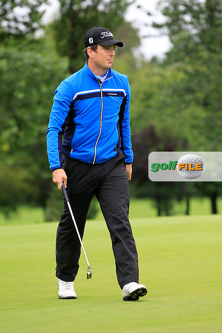 Colin Fairweather (Knock) on the 2nd during round 1 of The Mullingar Scratch Cup in Mullingar Golf Club on Sunday 3rd August 2014.<br /> Picture:  Thos Caffrey / www.golffile.ie