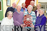 Pictured launching the Sean Chairde Friendly Bowls shield which is sponsored by the EBS and will be played in Kenmare on June 24th were Pauline Fleming, James Murphy, Elaine Scully, Margaret Sweeeney, Aiden McCabe, Barbara McDonald, Paul Sweeney and Cathy Smith.