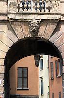Europe/Italie/Emilie-Romagne/Bologne : Quartier hébraïque via Zamboni