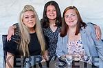 Helen and Alexa O'Mahoney and Megan Lynch enjoying the evening in Cassidys on Saturday.