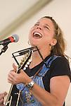 Terri Hendrix performs during the Arbor Daze festival in Euless, Texas