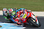 GP Moto Australia during the Moto World Championship 2014 in Phillip Island.<br /> MotoGP<br /> cal cruchtlow<br /> Rafa Marrodán/PHOTOCALL3000