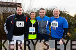 Maurice Murphy,Yvonne Quill and Matt Leahy, Noel Wheatcroft participating in the  Kerins O'Rahillys 10k on sunday