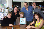 "Y&R Jack Allocco, Michael Corbett, Jeanne Cooper, Tony Rizzo, Warden Neil, Gladise Ramirez at The Premiere Book Signing of ""It's All About Dorothy"" - a wonderful new children's book and song which includes a cd telling the story of ""The Wizard of Oz"" on April 10, 2011 at Chevalier's Books, Los Angeles, California. (Photos by Sue Coflin/Max Photos)"