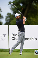 Abraham Ancer (MEX) watches his tee shot on 2 during Rd4 of the 2019 BMW Championship, Medinah Golf Club, Chicago, Illinois, USA. 8/18/2019.<br /> Picture Ken Murray / Golffile.ie<br /> <br /> All photo usage must carry mandatory copyright credit (© Golffile | Ken Murray)