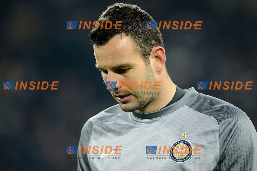 Samir Handanovic Inter<br /> Torino 02-02-2014 Juventus Stadium - Football 2013/2014 Serie A. Juventus - Inter Foto Giuseppe Celeste / Insidefoto