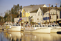 Fishing boats in Murray Harbour, Murray Harbour, Prince Edward Island, Canada